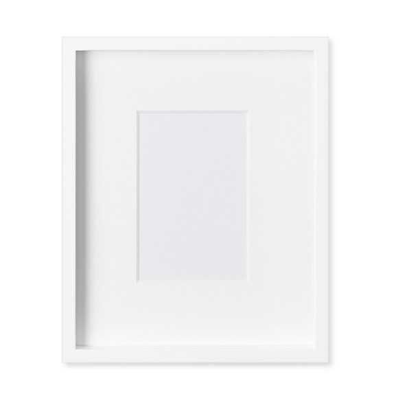 "White Lacquer Gallery Picture Frame - 11"" X 14"" - Williams Sonoma Home"