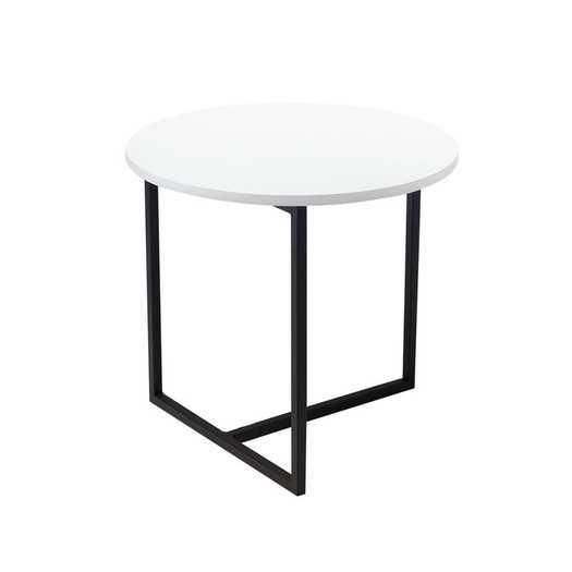 Dolf End Table - White Lacquer - AllModern