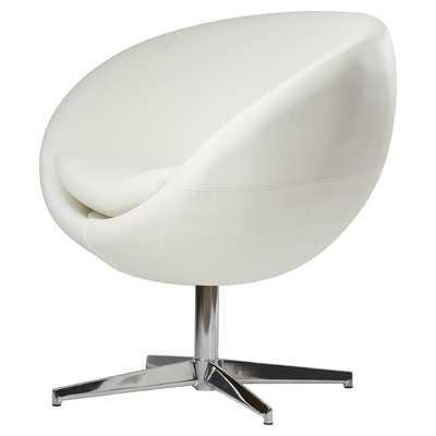 Bunnell Chair in White - Wayfair