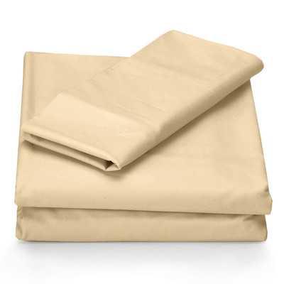 Microfiber Sheet Set - Cashmere - Wayfair