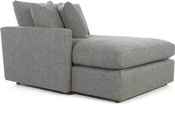Lounge II Left Arm Chaise Lounge - Crate and Barrel