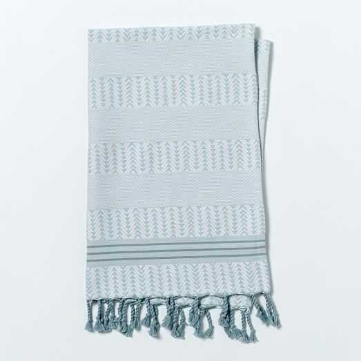 Geo Hammam Hand Towel - West Elm