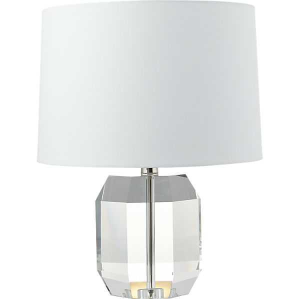 Carat table lamp - CB2