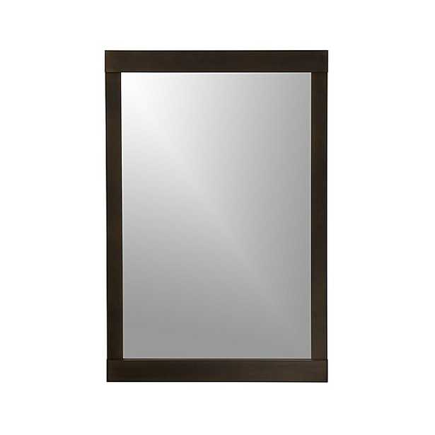 Colby Bronze Wall Mirror - Crate and Barrel