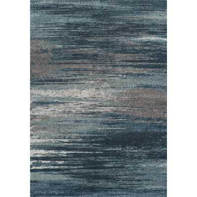 Modern Greys Dalyn Teal Area Rug - Wayfair