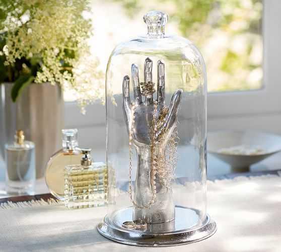 HAND JEWELRY CLOCHE - Pottery Barn