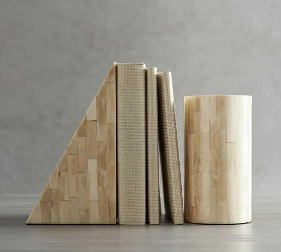 Sculptural Bone Bookends - Pottery Barn