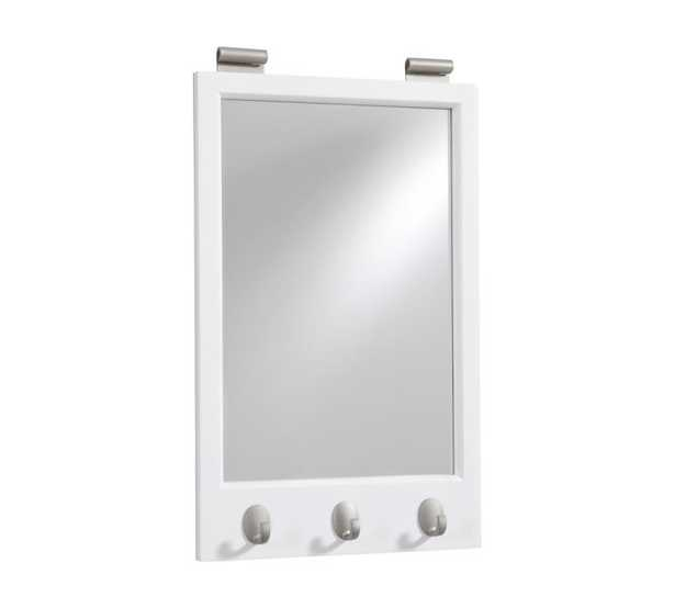MIRROR WITH HOOKS - Pottery Barn