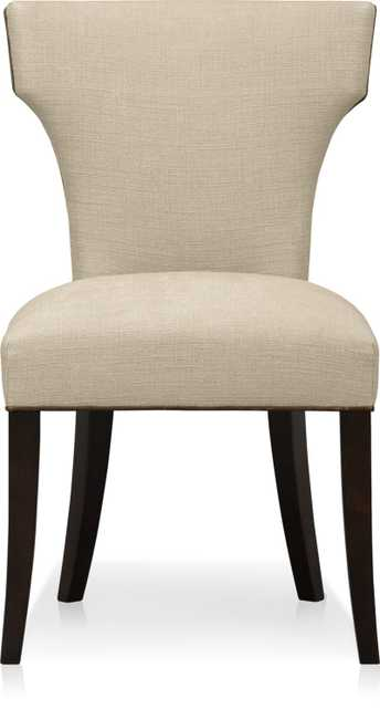 Sasha Upholstered Dining Chair - Natural - Crate and Barrel