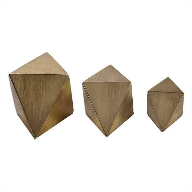 Rhombus (set of 3) - Hudsonhill Foundry