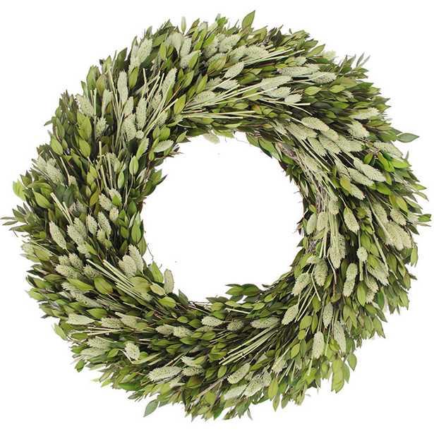 Phalaris Myrtle Wreath - Wayfair