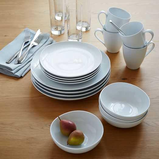 42-Piece Basic Tableware Starter Set - West Elm