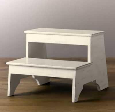 weathered step stool - RH Baby & Child