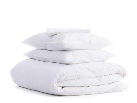 Percale Venice TOP SHEET in King/Cal King, White - Parachute