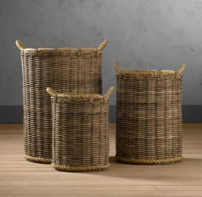 Handwoven Rattan Baskets - Medium - RH