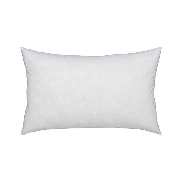 """Feather-Down 20""""x13"""" Pillow Insert - Crate and Barrel"""
