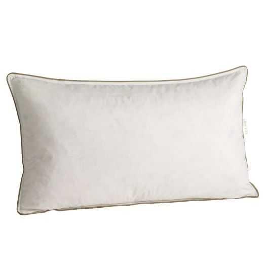 "Decorative Pillow Insert – 12""x21"" - with insert - West Elm"