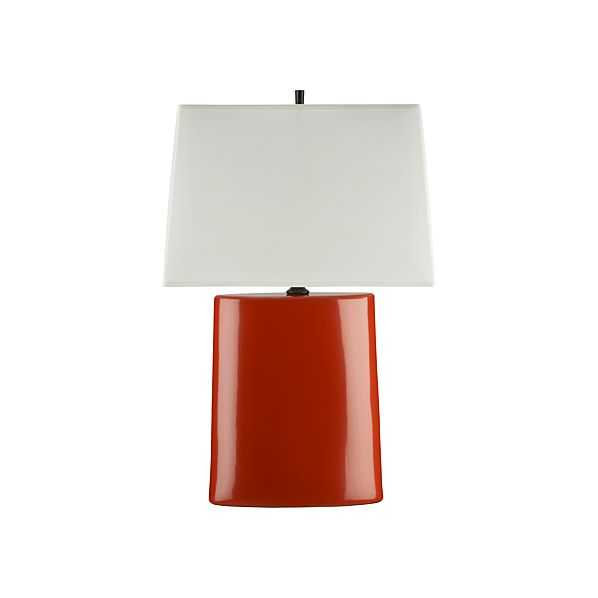Boka Persimmon Table Lamp - Crate and Barrel