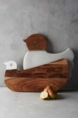 Cluck & Coo Cutting Board - Anthropologie