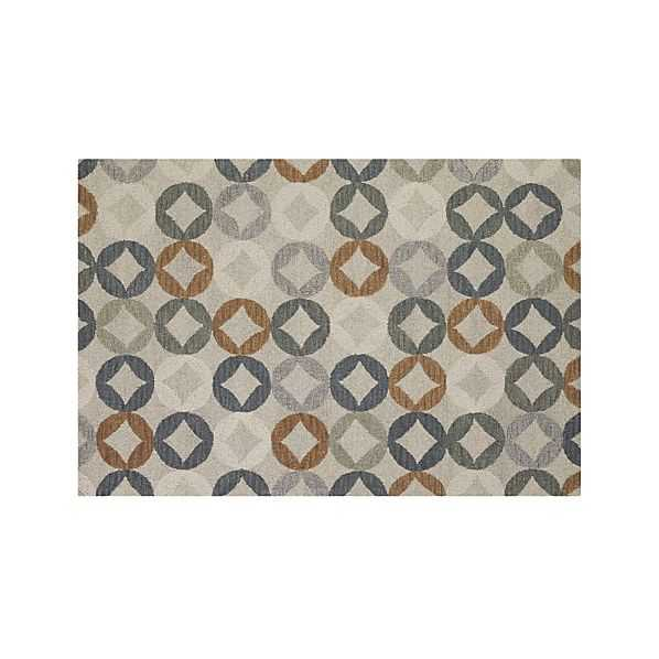 Destry Wool Rug - 5'x8' - Crate and Barrel