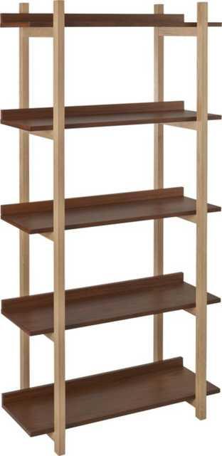 stax bookcase - CB2
