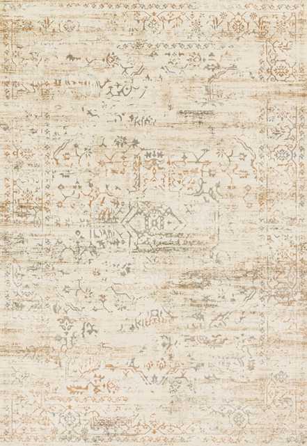 "KT-01 CREAM / MULTI Rug -6'7"" x 9'2"" - Loma Threads"