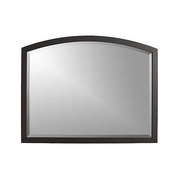 Arch Charcoal Wall Mirror - Crate and Barrel