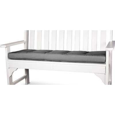 Outdoor Bench Cushion - Charcoal, 53x14 - Wayfair