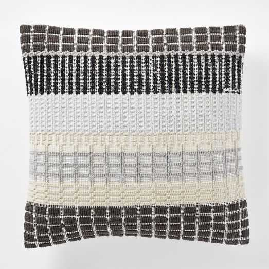 Margo Selby Woven Block Pillow Cover - West Elm