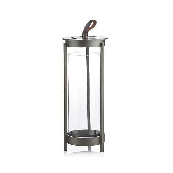 Carmel Large Lantern - Crate and Barrel