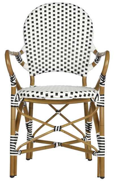 Hooper Indoor-Outdoor Stacking Armchair - Arlo Home