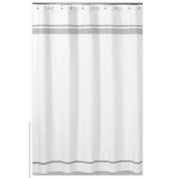 Hotel Cotton Shower Curtain - Wayfair