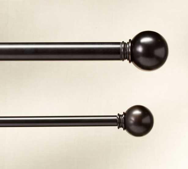 """ROD & WALL BRACKET - Small (28-48''), 0.75"""" diam. - Pottery Barn"""
