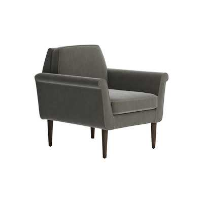 Knox Chair - Flanders Graphite - Wayfair