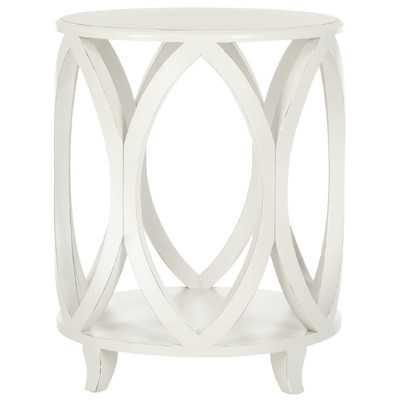 Janika End Table - Off white - Wayfair