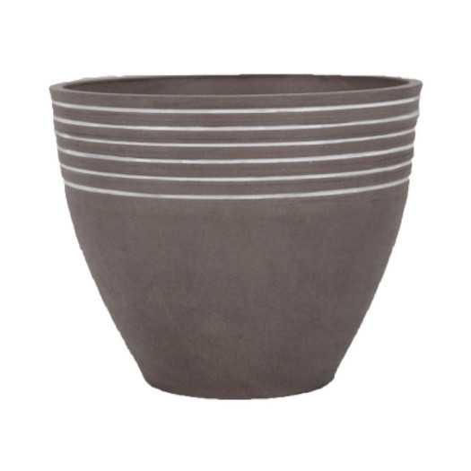 "PSW Striped Pot - 16"" x 13"" - AllModern"