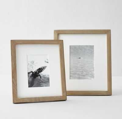 WOOD GALLERY FRAME - 5x7- Sandwashed Natural - RH Teen