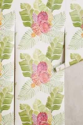 Majorcan Garden Wallpaper - Anthropologie