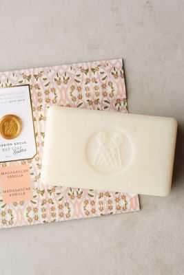 Mission Grove Bar Soap - madagascar vanilla - Anthropologie