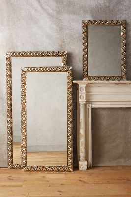 Studded Pyramid Mirror - Small - Anthropologie