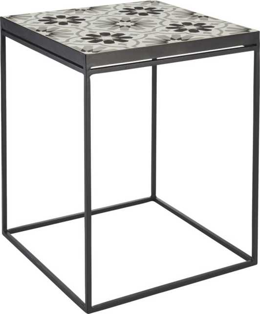 Tangier side table - CB2