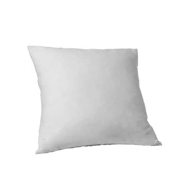 "Decorative Pillow Insert – 20""sq. - Feather - West Elm"