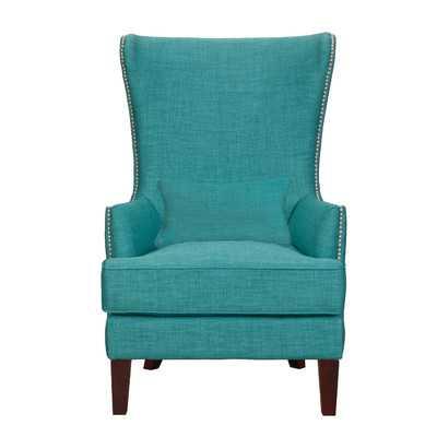 Kori Arm Chair - Teal - Wayfair