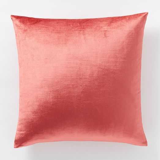 Luster Velvet Pillow Cover - West Elm