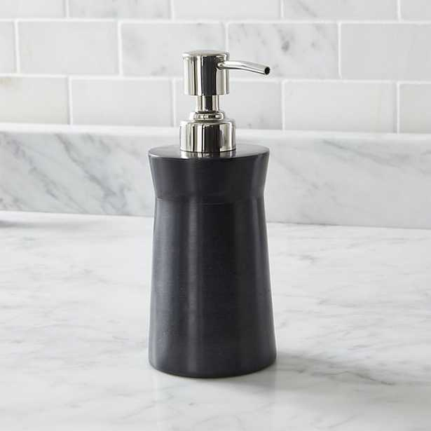Forma Soapstone Soap Pump - Crate and Barrel