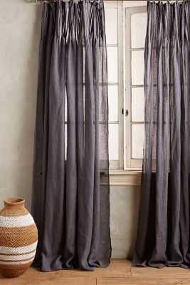 """Pinch-Pleat Curtain - 96"""" - Anthropologie"""