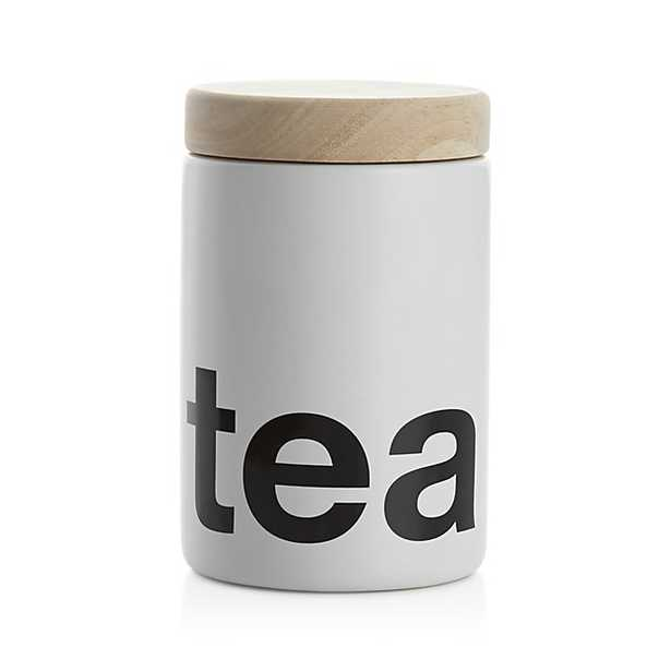 Tea Canister - Crate and Barrel
