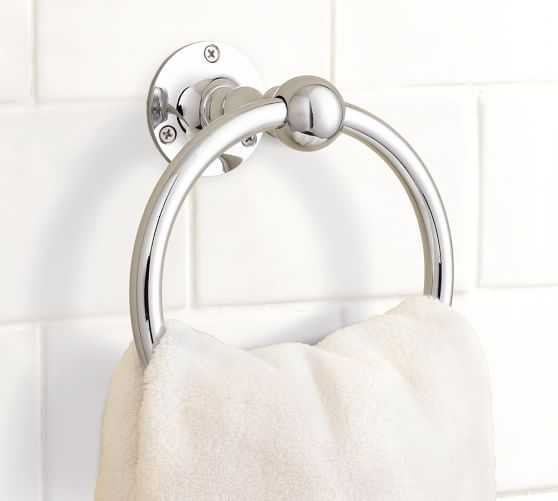 Sussex Towel Ring - Chrome - Pottery Barn