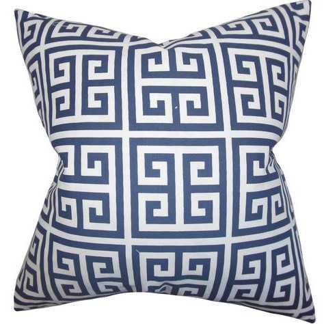 Greek Key Throw Pillow - Wayfair