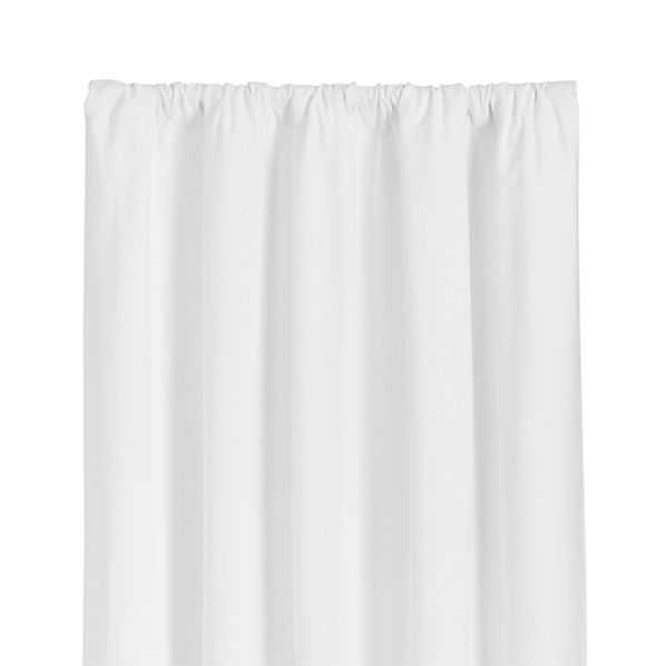 """Wallace White Curtains -84"""" - Crate and Barrel"""